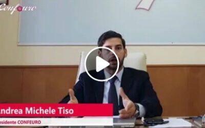 CORONAVIRUS: PERCHE' CONFEURO RESTA AL FIANCO DEI CITTADINI. IL VIDEO MESSAGGIO DEL PRESIDENTE TISO